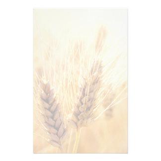 Wheat field stationery
