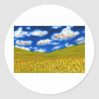 Wheat Field Stickers