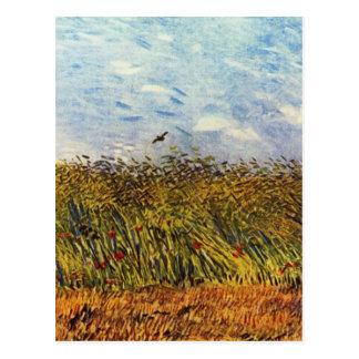 Wheat Field with a Lark Postcard