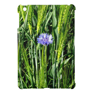 Wheat field with Cornflower iPad Mini Covers