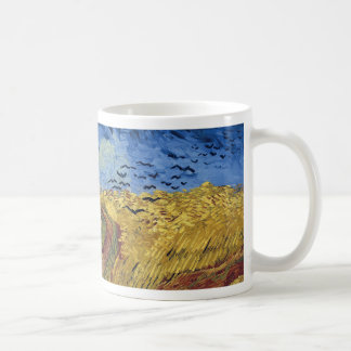 Wheat Field with Crows by Van Gogh Coffee Mug