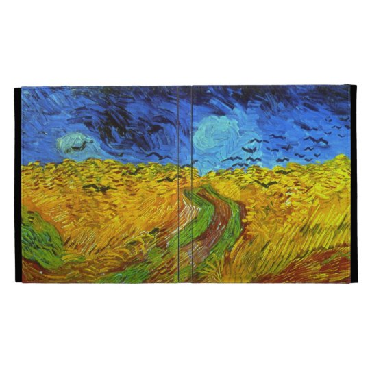 Wheat Field with Crows Van Gogh Fine Art iPad Cases