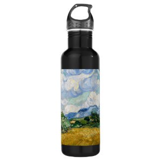 Wheat Field with Cypresses Bottle