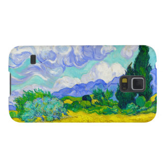 Wheat Field with Cypresses by Vincent Van Gogh Galaxy S5 Cover