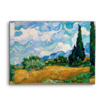 Wheat Field with Cypresses by Vincent van Gogh Envelope