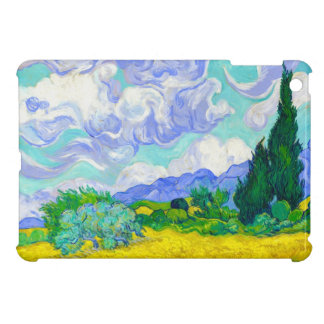 Wheat Field with Cypresses by Vincent Van Gogh Cover For The iPad Mini