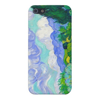 Wheat Field with Cypresses by Vincent Van Gogh iPhone 5 Case