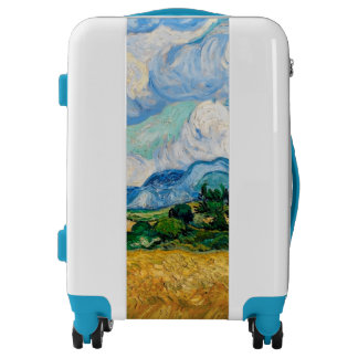 Wheat Field with Cypresses by Vincent van Gogh Luggage