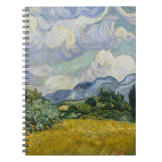 Wheat Field with Cypresses by Vincent van Gogh Notebooks