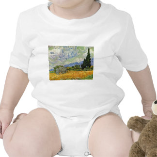 Wheat Field With Cypresses By Vincent Van Gogh Tshirt