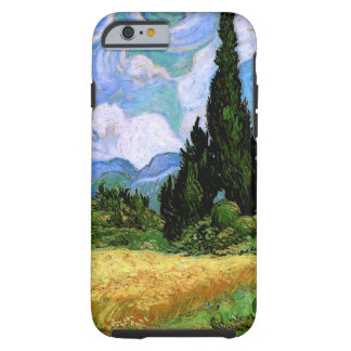 Wheat Field with Cypresses (F717)Van Gogh Fine Art Tough iPhone 6 Case