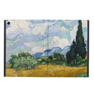Wheat Field with Cypresses iPad Air Cases