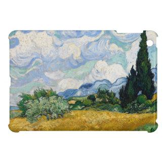 Wheat Field with Cypresses iPad Mini Case