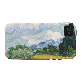 Wheat Field with Cypresses iPhone 4 Case