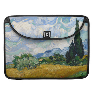 Wheat Field with Cypresses Macbook Pro Flap Sleeve Sleeves For MacBook Pro