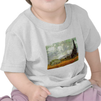 Wheat Field with Cypresses Tshirt