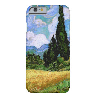 Wheat Field with Cypresses Van Gogh Fine Art Barely There iPhone 6 Case