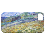 Wheat Field with Mountains in the Background iPhone 5 Case