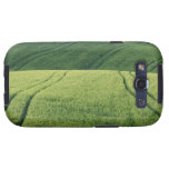 Wheat Field with Tire Tracks, Pienza, Val Samsung Galaxy SIII Covers