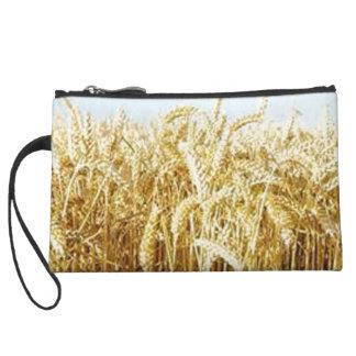 Wheat Field Wristlet Wallet
