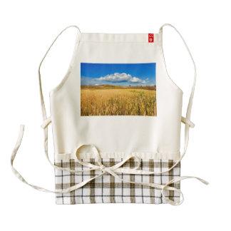 Wheat field zazzle HEART apron
