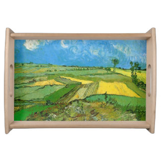 Wheat Fields at Auvers Under Clouded Sky Service Tray