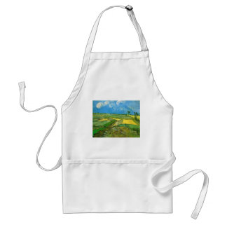 Wheat Fields at Auvers Under Clouded Sky, Vincent Adult Apron