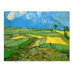 Wheat Fields at Auvers Under Clouded Sky, Vincent Post Cards
