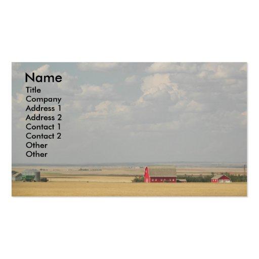 Wheat Fields Business Card