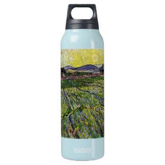 Wheat Fields by Van Gogh Insulated Water Bottle