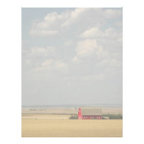 Wheat Fields Landscape Letterhead