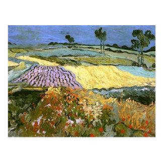 Wheat Fields Near Auvers Van Gogh Fine Art Postcard
