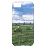 Wheat Fields with Stacks, Vincent van Gogh Cover For iPhone 5C