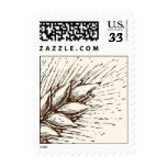 Wheat Frond Postage Stamp