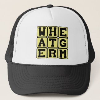Wheat Germ, Healthy Supplement Trucker Hat