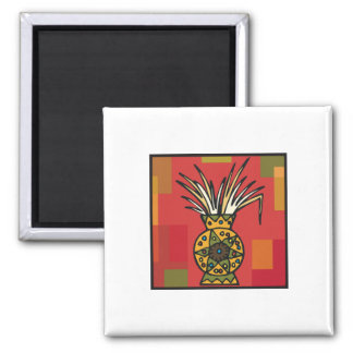 Wheat Harvest for Kwanzaa 2 Inch Square Magnet