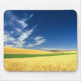 Wheat harvest on the Palouse in Eastern Mouse Pad