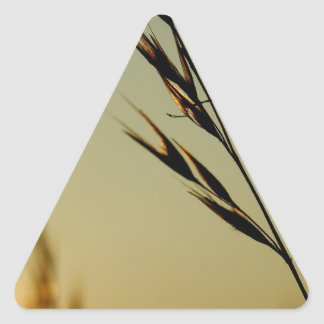 Wheat Head Triangle Sticker
