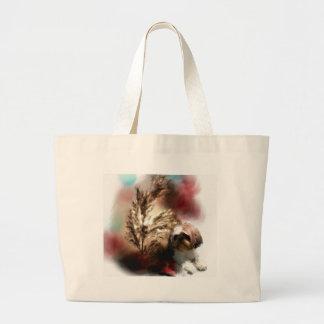 wheat in the sun tote bag