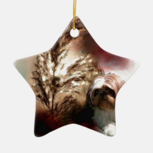 wheat in the sun christmas ornament