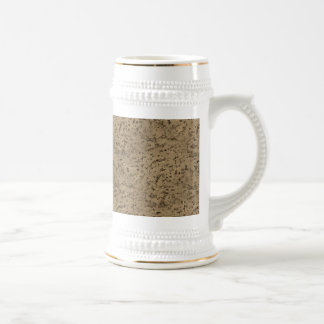 Wheat Natural Cork Bark Look Wood Grain Beer Stein