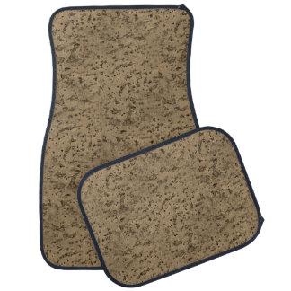 Wood grain car floor mats zazzle for Cork flooring wood grain look