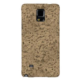 Wheat Natural Cork Bark Look Wood Grain Galaxy Note 4 Case