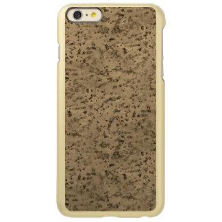 Wheat Natural Cork Bark Look Wood Grain Incipio Feather® Shine iPhone 6 Plus Case
