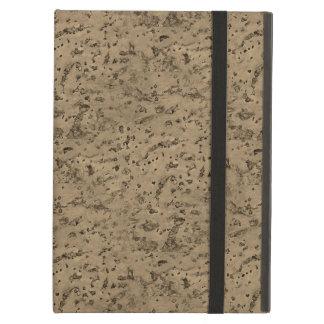 Wheat Natural Cork Bark Look Wood Grain iPad Air Cover