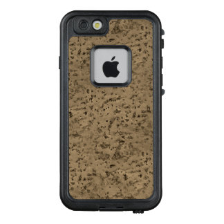 Wheat Natural Cork Bark Look Wood Grain LifeProof® FRĒ® iPhone 6/6s Case