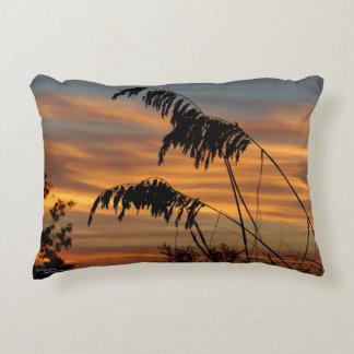 Wheat ornamental grass sunrise Pillow