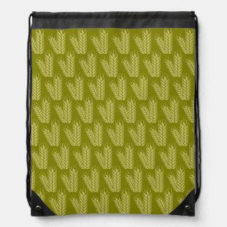 Wheat pattern custom bag