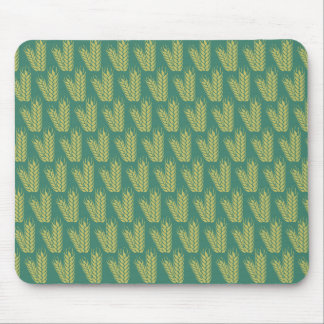 Wheat pattern custom mousepad