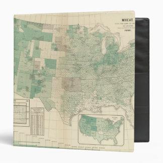 Wheat per acre sown vinyl binders